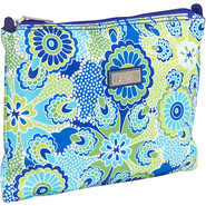 Medium Zippered Carry All - Jazz Cobalt