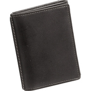 Casual Trifold Wallet - Black