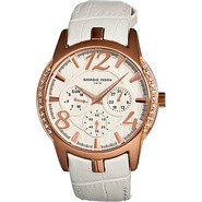 Lady Timer Women's Watch White/Rose Gold - Giorgio