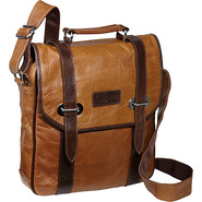 Granger Two-tone Messenger Bag Brown Two-tone - Am