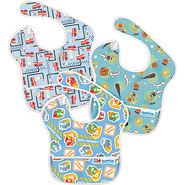 SuperBib 3 Pack New Boy Assortment - Bumkins Diape