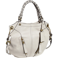 Gwen Woven Strap Shoulder Bag Bone - orYANY Design