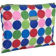 Large Zippered Carry All - Jazz Dots