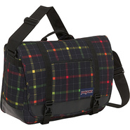 Jansport Throttle Laptop Messenger Bag - Black/Ras