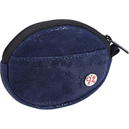 Leather Token Coin Purse Navy - TOKEN Ladies Small