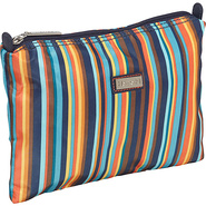Small Zippered Carry All Arabesque Stripes - Hadak