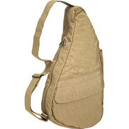 Healthy Back Bag  Medium Distressed Nylon Taupe -