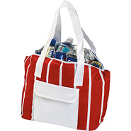 Delray Cooler Tote - Red