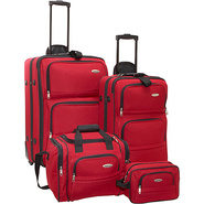 4-Piece Travel Set - Red