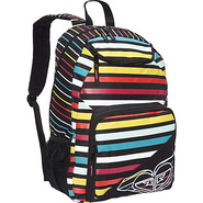 Shadow View Backpack Black Multi - Roxy School &amp; D