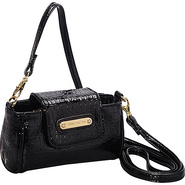 Color Rush Cell Phone Crossbody Black - Anne Klein