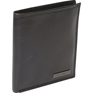 Mead Organizer Wallet Black - Geoffrey Beene Mens 