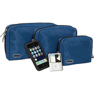 Padded Pouches - 3 pc Set - Denim