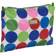 Small Zippered Carry All - Jazz Dots
