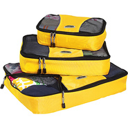 Packing Cubes - 3pc Set - Canary