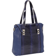 Harper Shopper Ink - B. Makowsky Leather Handbags