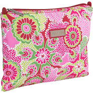 Medium Zippered Carry All - Jazz Ruby
