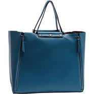 Pebbled Large Tote Blue - Sydney Love Manmade Hand