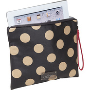 Vintage Tech Pouch Black/Khaki Dot - Echo Laptop S