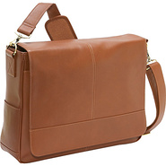 Royce Leather Messenger Bag - Tan