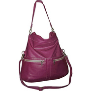 Lauren Crossbody Fold Over Bag Calypso Orchid - Br