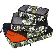 Packing Cubes - 3pc Set Camo - eBags Packing Aids