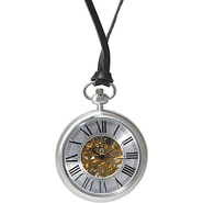 Holmes Pocket Watch - Classic Silver - TOKYObay Wa
