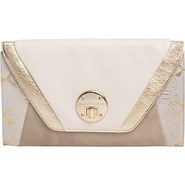 Cordoba Clutch White Block - Elliott Lucca Leather