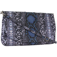 Regal Snake Jolene Shoulder Marine - Lodis Leather