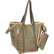 Carina Two-Face Tote - Army