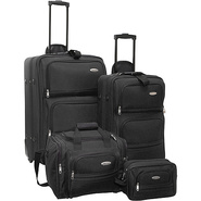 4-Piece Travel Set - Black