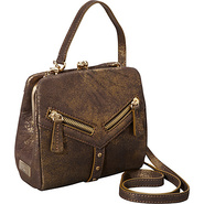 Trigger Frame Crossbody Metallic Brown - Botkier D