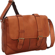 Sorrento Laptop Messenger - Saddle