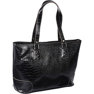 Exotic Phoebe Laptop Tote Black - Accessory Street