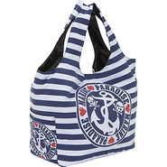 Sailor Skull Striped Tote Bag - Tote