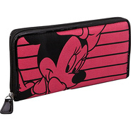 Minnie Mouse Pink &amp; Black Wallet Pink/Black - Loun
