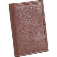 Casual Bifold Card Case - Mahogany