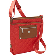 Silvi Cross Body Terracotta - Knomo Fabric Handbag