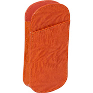 Slip In Double Eyeglass Case - Tangerine