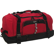 Drop Bottom Duffel - Red