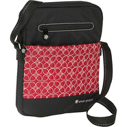 Tablet Shoulder Bag - Sangria/ Black