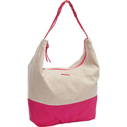 Meadow Shoulder Bag Fuchsia - Roxy Fabric Handbags