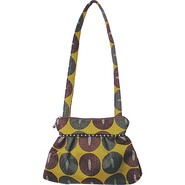 Addie Shoulder Bag Lunar Moss - Maruca Design Fabr