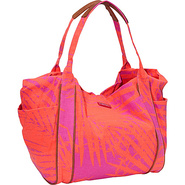 Voyage Shoulder Bag Pop Orange - Roxy Fabric Handb