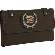 Cadillac PU Leather Wallet - Khaki