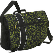 Rufus Laptop Messenger Bag - Yellow Bolts,