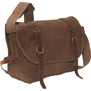 Vintage Explorer Messenger Bag Brown - Rothco Mess