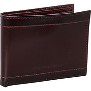 Winchester Passcase Billfold Wallet Burgundy - Geo