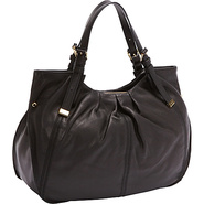 Blanca Tote Black - Perlina Leather Handbags