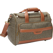 Tweed Cosmetic Tote Walnut Tweed - Hartmann Luggag